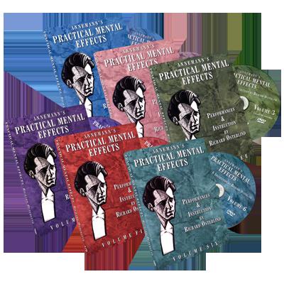 Annemann's Practical Mental Effects (Vol 1 thru 6) by Richard Osterlind - DVD