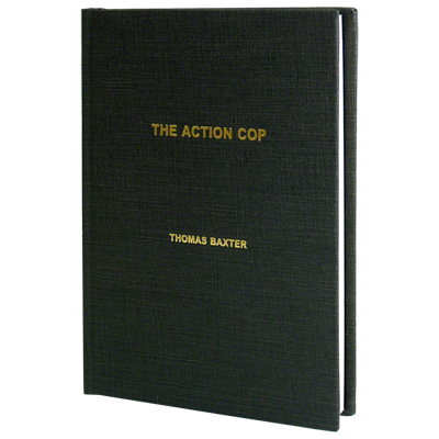 The Action Cop by Thomas Baxter - Book