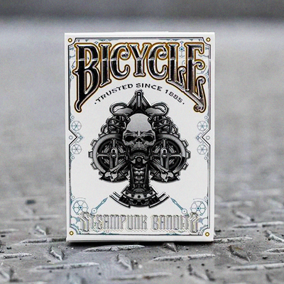 BICYCLE STEAMPUNK BANDIT DECK (White)