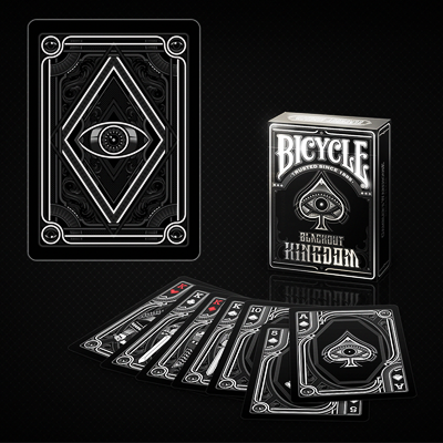 Bicycle Blackout Kingdom  Deck - Gamblers Warehouse