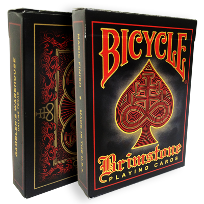 Bicycle Brimstone Deck (Rojo) - Gamblers Warehouse