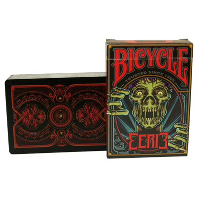 Bicycle Eerie Deck (Rojo) - Gamblers Warehouse