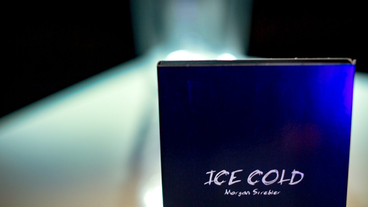 Ice Cold: Propless Mentalism (2 DVD Set) Limited Edition by Morgan Strebler and SansMinds