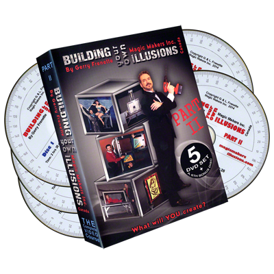 Building Your Own Illusions Part 2 The Complete Video Course (6 DVD set) - Gerry Frenette - DVD