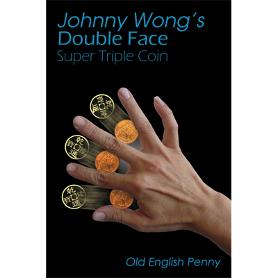 Double Face Super Triple Coin - Old English Penny (con DVD) - Johnny Wong