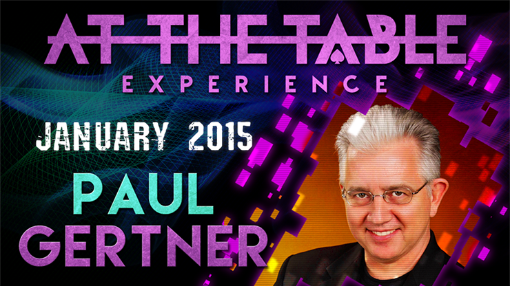 At the Table Live Lecture - Paul Gertner 01/07/2015 - video DOWNLOAD