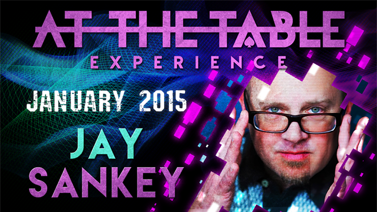 At the Table Live Lecture - Jay Sankey January 21st