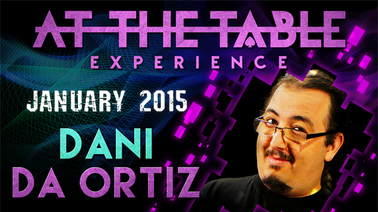At the Table Live Lecture - Dani da Ortiz January 28th