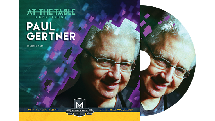 At the Table Live Lecture Paul Gertner - DVD