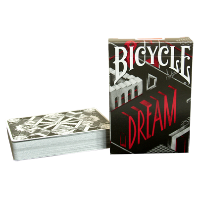 Bicycle Dream Playing Cards (Silver Edition) by Card Experiment - Trick