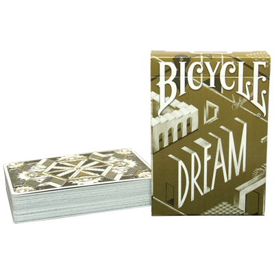 Bicycle Dream Playing Cards (Gold Edition) by Card Experiment - Trick