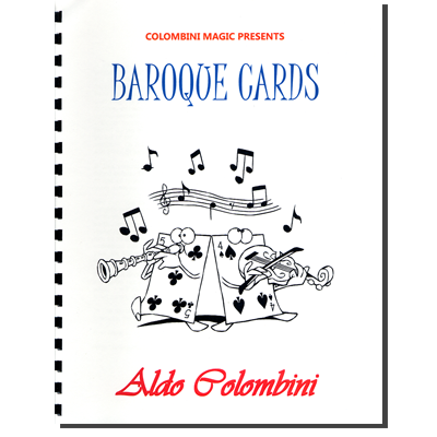 Baroque Cards (Spiral Bound) by Aldo Colombini - Book