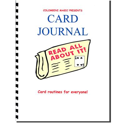 Card Journal (Spiral Bound) - Aldo Colombini - Libro de Magia