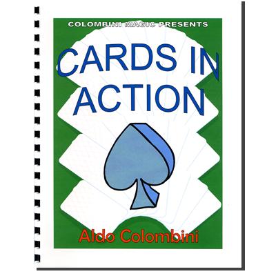 Cards In Action (Spiral Bound) - Aldo Colombini - Libro de Magia