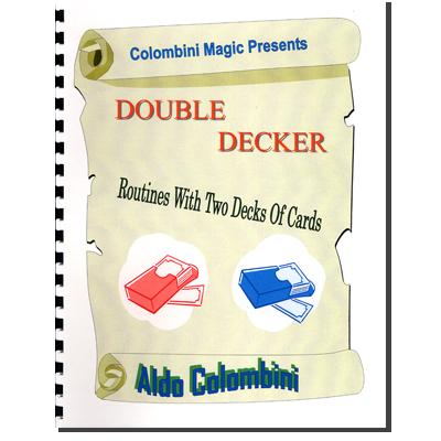 Double Decker (Spiral Bound) - Aldo Colombini - Libro de Magia