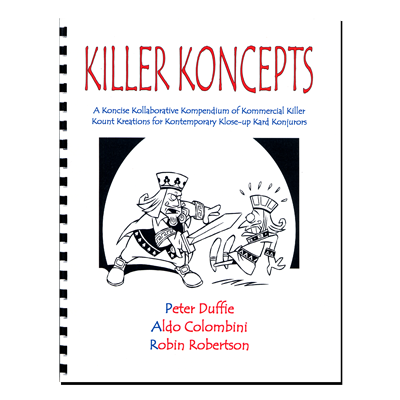 Killer Koncepts (Spiral Bound) - Aldo Colombini - Libro