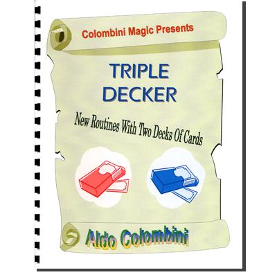 Triple Decker (Spiral Bound) by Aldo Colombini - Book