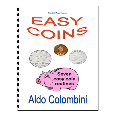 Easy Coins (Spiral Bound) by Aldo Colombini - Book