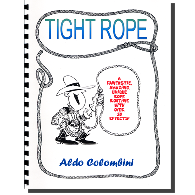 Tight Rope (Spiral Bound) by Aldo Colombini - Book