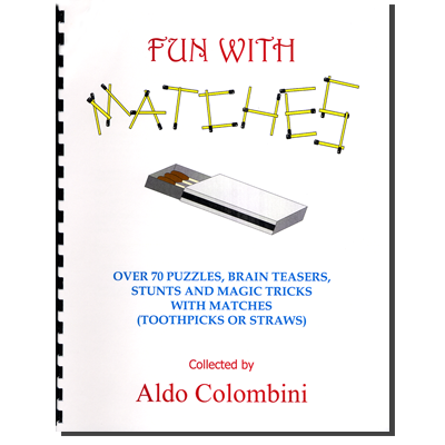 Fun With Matches (Spiral Bound) by Aldo Colombini - Book