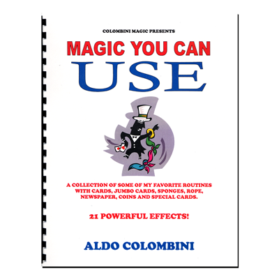 Magic You Can Use (Spiral Bound) - Aldo Colombini - Libro