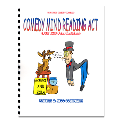 Comedy Mind Reading Act (Spiral Bound) - Aldo Colombini - Libro