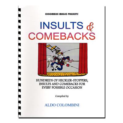 Insults & Comebacks (Spiral Bound) by Aldo Colombini - Book