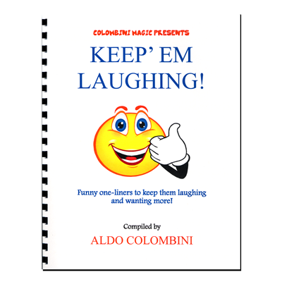 Keep Em Laughing (Spiral Bound) by Aldo Colombini - Book