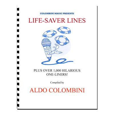 Life Saver Lines (Spiral Bound) by Aldo Colombini - Book