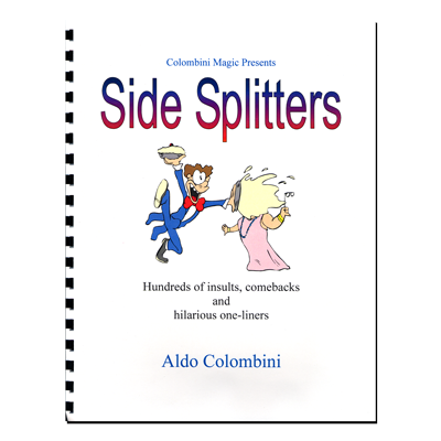 Side Splitters (Spiral Bound) by Aldo Colombini - Book