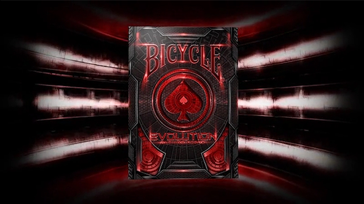 Bicycle Evolution Deck (Red) - USPCC
