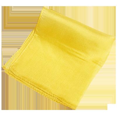 Silk 9 inch (Yellow) Magic by Gosh - Trick