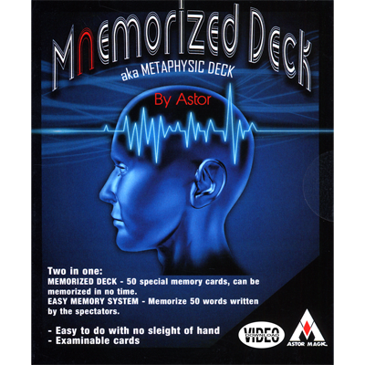 Mnemorized Deck by Astor - Trick & on-line instructions