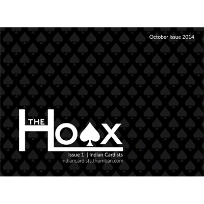 The Hoax (Issue #1) - by Antariksh P. Singh & Waseem & Sapan Jos