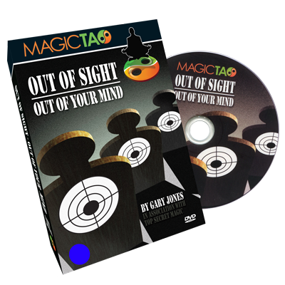 Out of Sight Out Of Your Mind Blue (DVD and Gimmick)by Gary Jones and Magic Tao