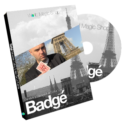 Badge (DVD and Gimmick) by Alexis De La Fuente and Sebastien Calbry - DVD