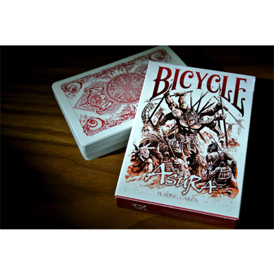 Bicycle Asura Red Deck by Gambler's Warehouse