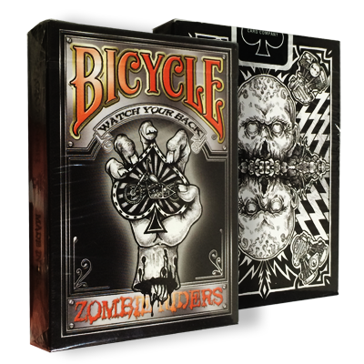 Bicycle Zombie Riders Deck by Gambler's Warehouse