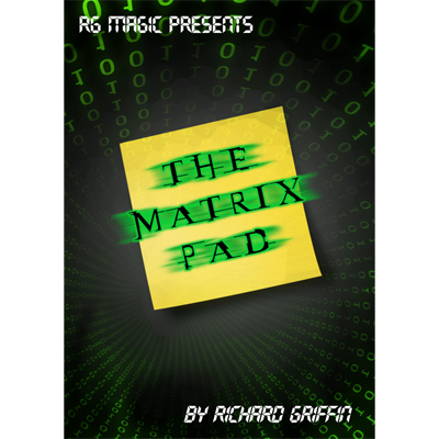 The Matrix Pad (DVD & Gimmicks) by Richard Griffin - Trick