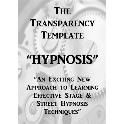 The Transparency Template - Jonathan Royle - eBook