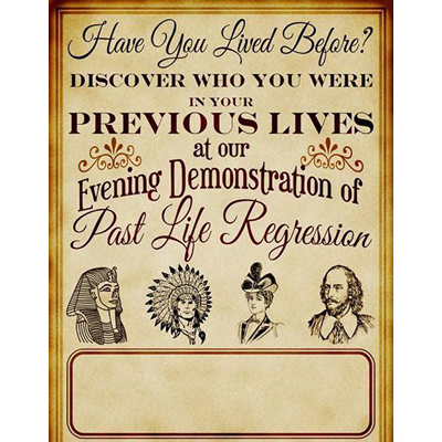 Past Life Regression for the Magician & Mentalist by Jonathan Royle eBook DOWNLOAD