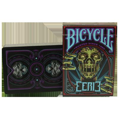 Bicycle Eerie Deck (Purple) by Gambler's Warehouse