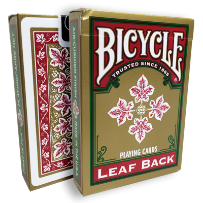 Carti de joc Bicycle Leaf Back Deck (Red)