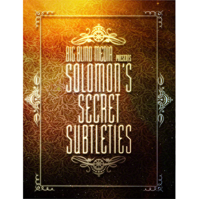 Solomon's Secret Subtleties by David Solomon video DOWNLOAD