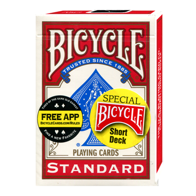 Bicycle Short Deck (Rojo) - US Playing Card Co