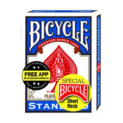 Bicycle Short Deck (Blue) - US Playing Card Co