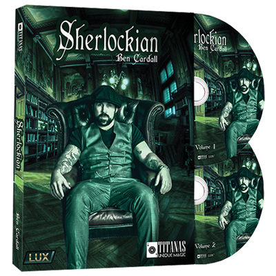 Sherlockian (2 DVD Set) by Ben Cardall and Titanas Magic