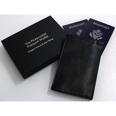 Pickpocket Passport (Gimmick and Online instructions) by Alan Wong & Gregory Wilson - Trick