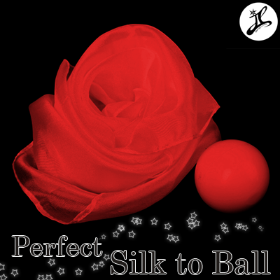 JL PERFECT SILK TO BALL - ČERVENÁ