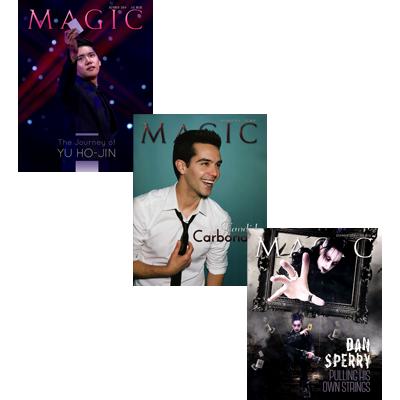 Magic Magazine 3-month Set - Oct, Nov, Dec 2014 - Book